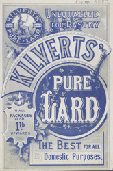Advert For Kilvert's Lard